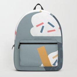 Ice Cream (Blue) Backpack