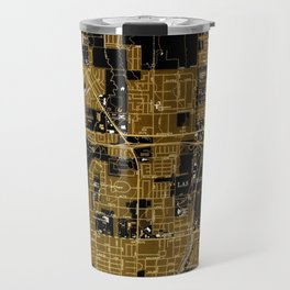 Las Vegas old map year 1967 Travel Mug