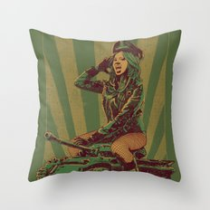 'Ready for Battle' Throw Pillow