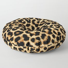 ReAL LeOparD Floor Pillow