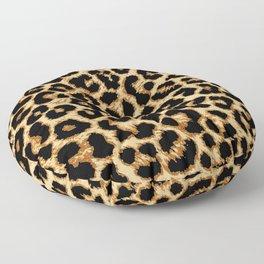 ReAL LeOparD Floor Pillow