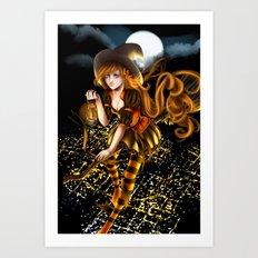 Helloween Art Print