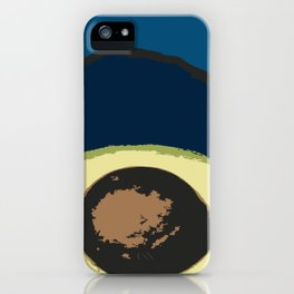 Life Cycle of an Avocado iPhone Case