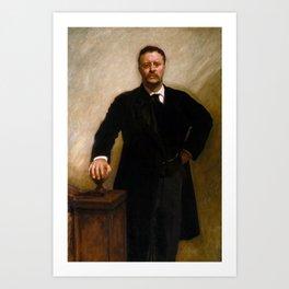 Portrait of Theodore Roosevelt (1903) Art Print