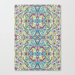 Sunday Morning Swirlies Canvas Print