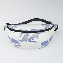 dino blue pat. Fanny Pack