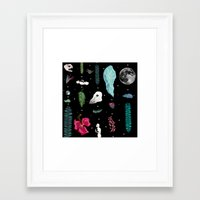jungle Framed Art Prints featuring Jungle by Sydney Holland