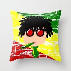 Reggae Kazoo Throw Pillow