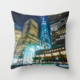Brookfield Place Throw Pillow