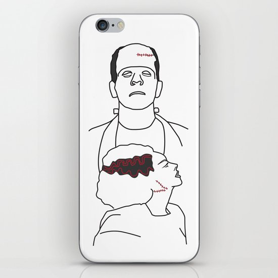 Monster & his Bride iPhone & iPod Skin