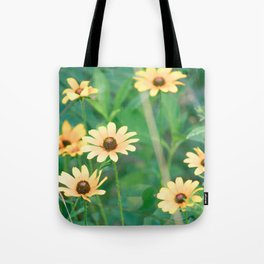 Black-Eyed Susan Yellow Flowers Nature Photography Tote Bag