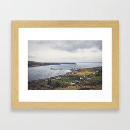 Uig, Isle of Skye, Scotland Framed Art Print