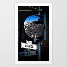 Jones & Beach Art Print