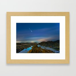 A wish Framed Art Print
