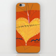 Heart on the Mend iPhone & iPod Skin