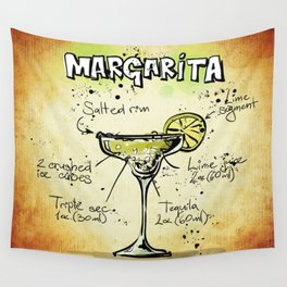 Margarita Wall Tapestry