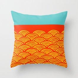Miko 5 Throw Pillow