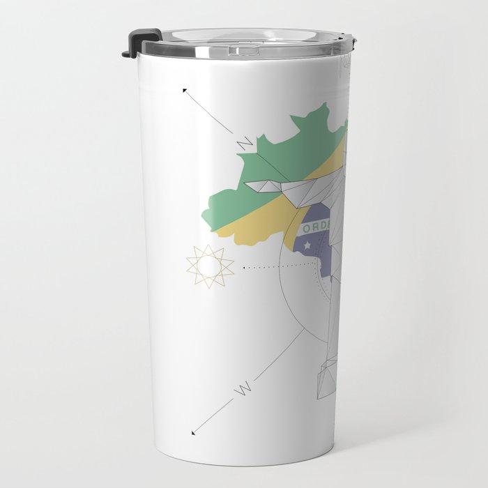 05 | Polygon Cristo Redentor | Brazil Travel Mug