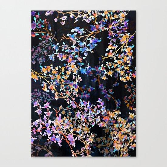 Spring Blossom Dark  Canvas Print