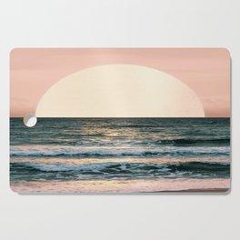 Summer Sunset Cutting Board