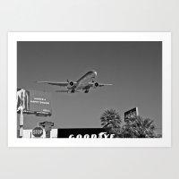 airplane Art Prints featuring Airplane by Nick Douillard