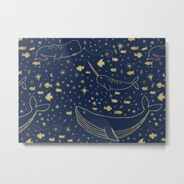 Celestial Ocean Metal Print