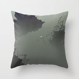 Inside Nucleus  Throw Pillow