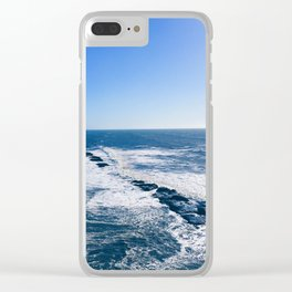 Rocky West Marin Ocean Clear iPhone Case