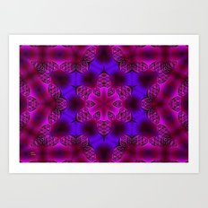 Abstract X Two Art Print