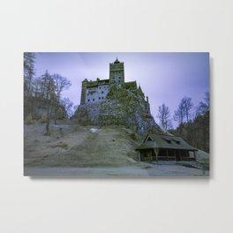 Castelul Bran Metal Print