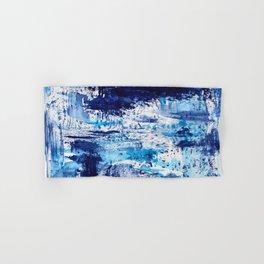 Blue passion || watercolor Hand & Bath Towel