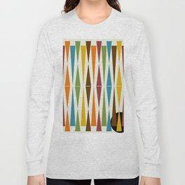 Mid-Century Modern Art 1.4 Long Sleeve T-shirt