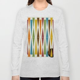 Mid-Century Modern Art 1.4 Long Sleeve T-shirt