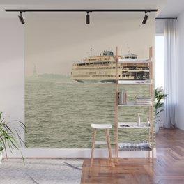 Staten Island Ferry Wall Mural