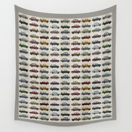 Trabant pattern Wall Tapestry