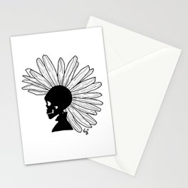 Rock N Roll (Blk) Stationery Cards
