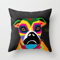 doge Throw Pillows featuring doge by YehudArt