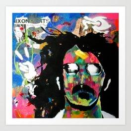 Frank Zappa Pop Art Art Print