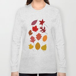 Autumn Ombre Long Sleeve T-shirt