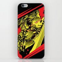 metal gear iPhone & iPod Skins featuring Metal Gear Rising by Hypertwenty