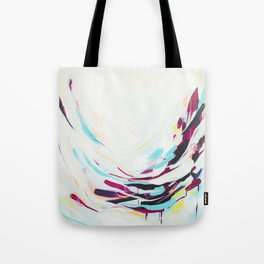 The Healer - Abstract painting #society6 Tote Bag
