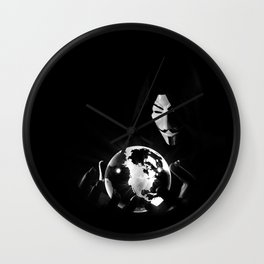 Dr Anonymous Wall Clock