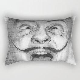 Perverso Dalí Rectangular Pillow