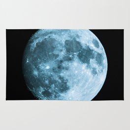 Moon - Space Photography Rug
