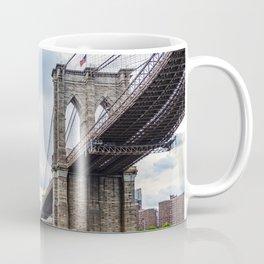 Brooklyn Bridge and Skyline of New York Coffee Mug