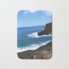 Coast of Honolulu Bath Mat