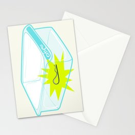 Cotter pin in the rotter bin! Stationery Cards