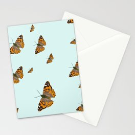Painted Ladies Butterflies Stationery Cards