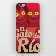 Gato caleño iPhone & iPod Skin