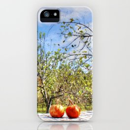 The Apple Orchard iPhone Case